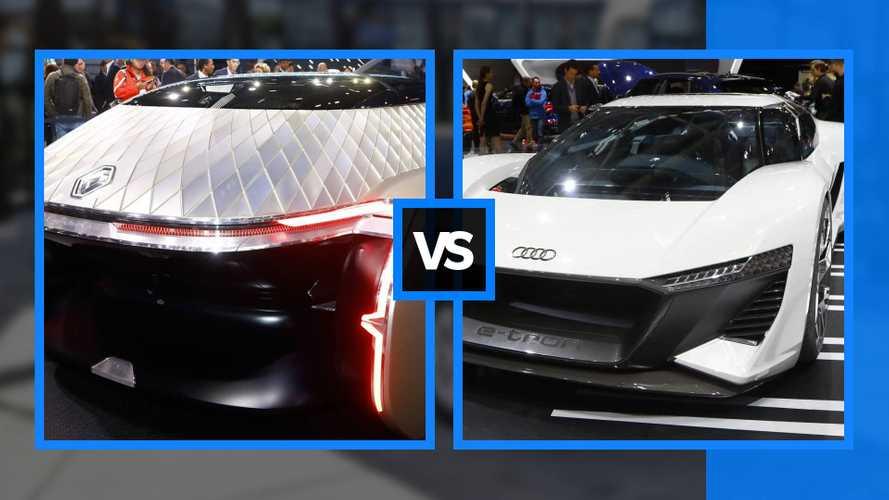 Renault EZ-Ultimo e Audi PB18 e-tron, visioni di futuro al Salone di Parigi