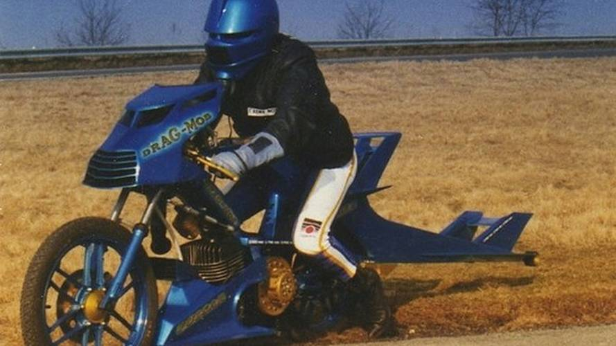 Watch This Jet-Powered Moped Hit 230 Miles Per Hour
