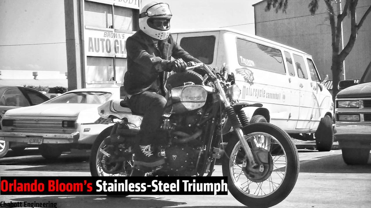 Orlando Bloom's Stainless-Steel Triumph