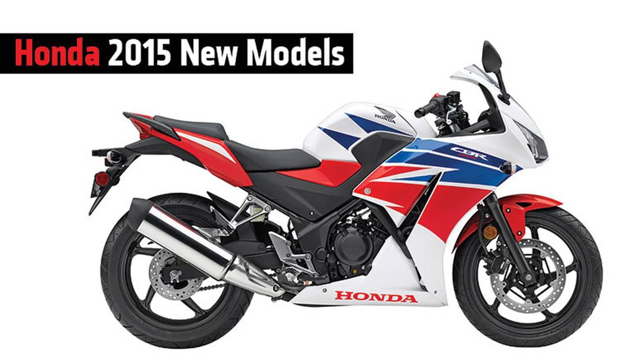 Honda 2015 New Models