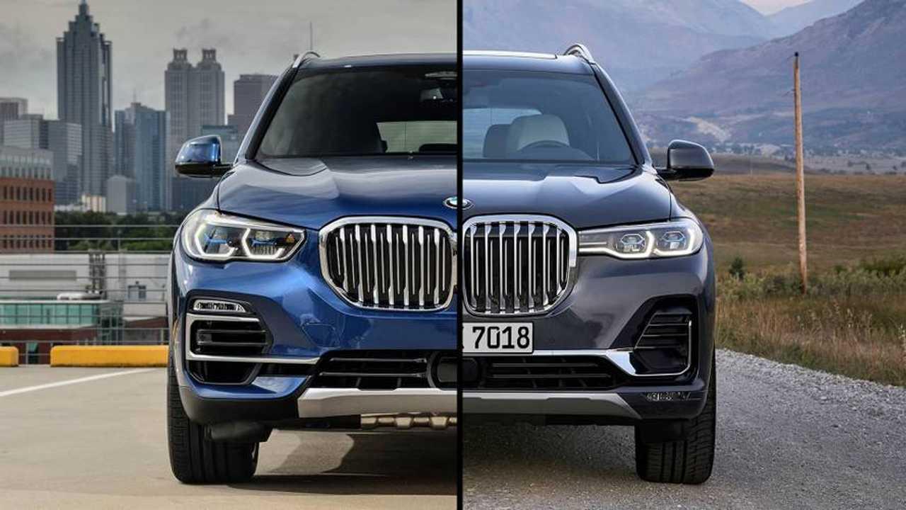 BMW X5 vs. BMW X7