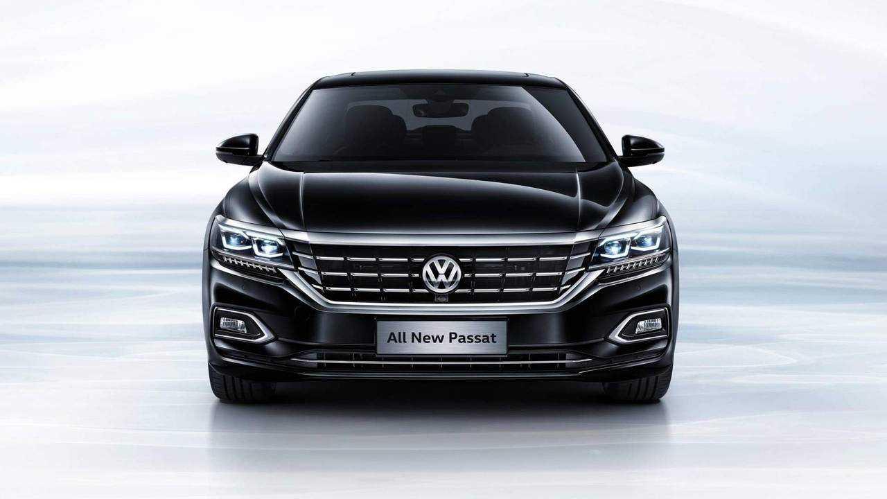 2018 Volkswagen Passat (Chinese-spec)