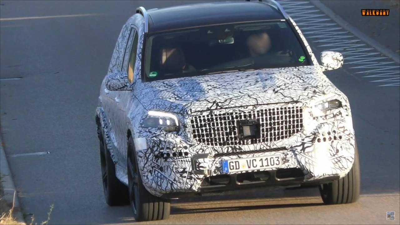 Mercedes-AMG GLS 63 Spied