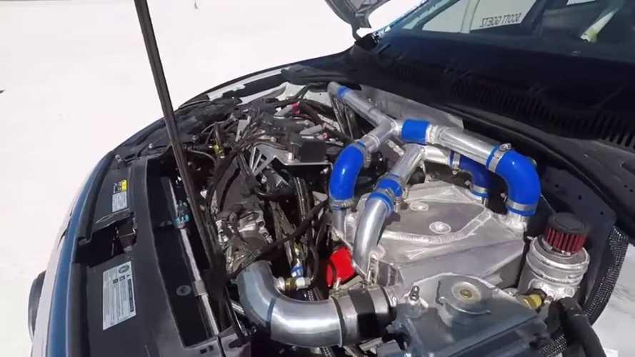 VW Jetta Bonneville Tuz Gölü'nde 340 Km/s Hıza Çıkıyor