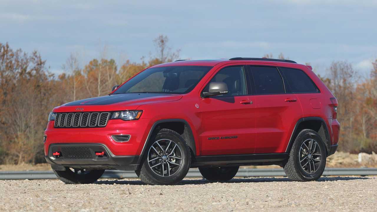 9. Jeep Grand Cherokee: 2.1 Percent