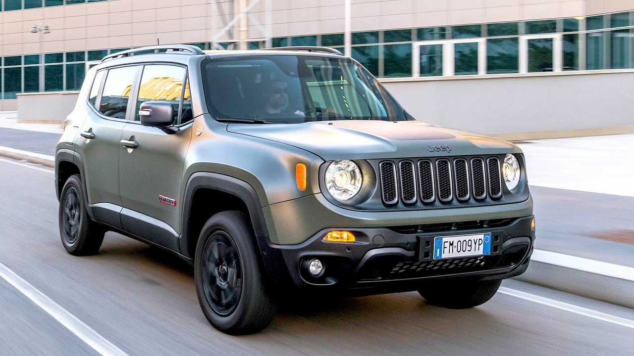 Jeep Renegade (4,24 Meter)