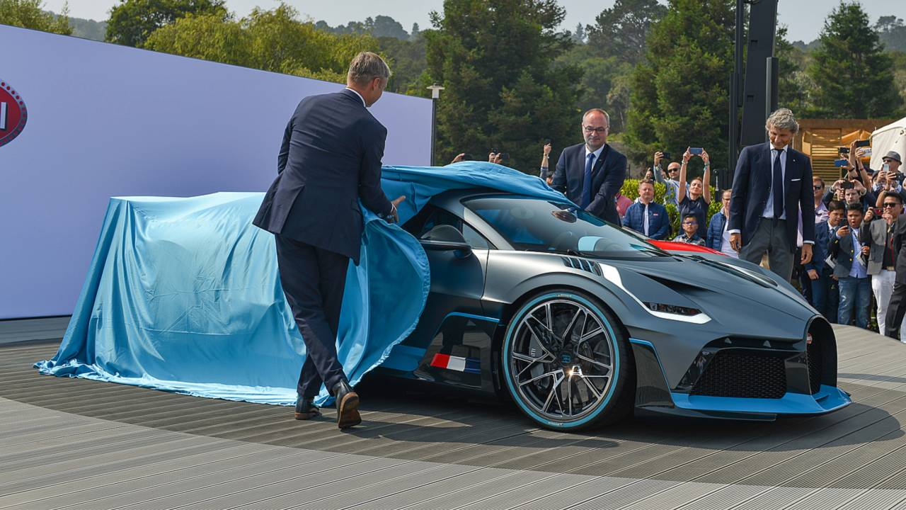Bugatti Divo ao vivo em Pebble Beach