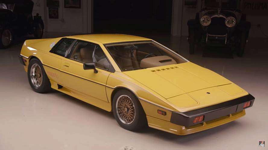 Lotus Esprit at Jay Leno's Garage could make James Bond jealous