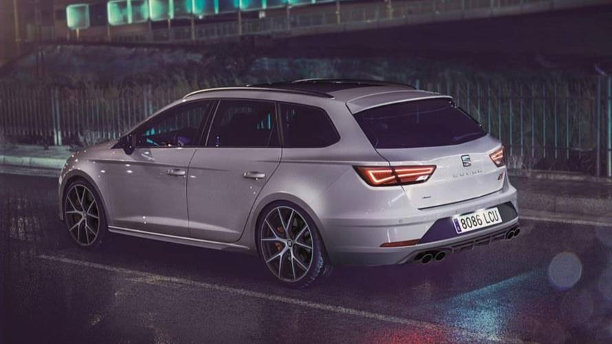 Seat Reveals Limited Run Leon ST Cupra Carbon Edition