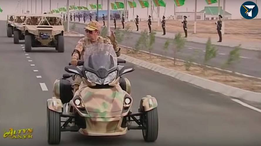 Turkmenistan's President Wants You to Know He's a Badass Too