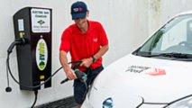 Nissan electric van Jersey Post