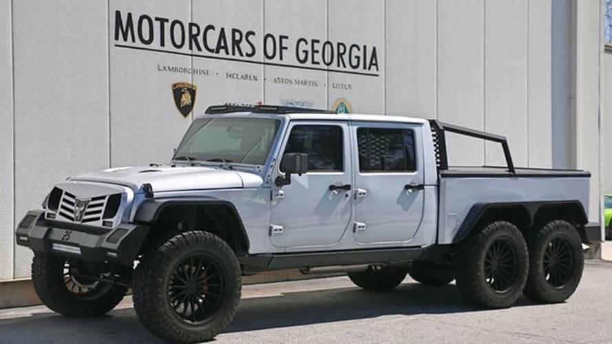 Crazy 6x6 Jeep Wrangler Custom | Motor1.com Photos