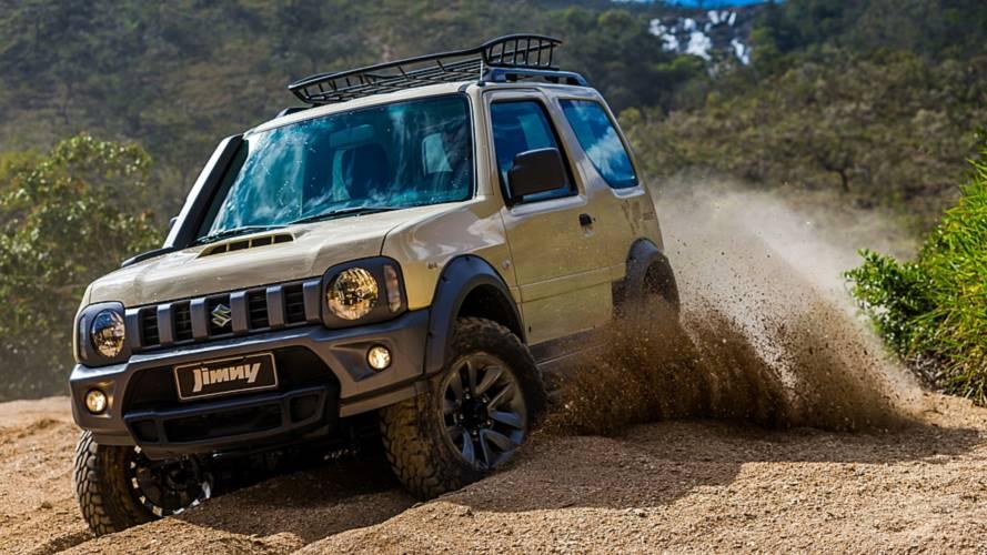 Suzuki Jimny ganha edição especial Desert por R$ 85.990