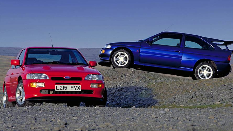 Ford Escort RS Cosworth, una perla per veri intenditori