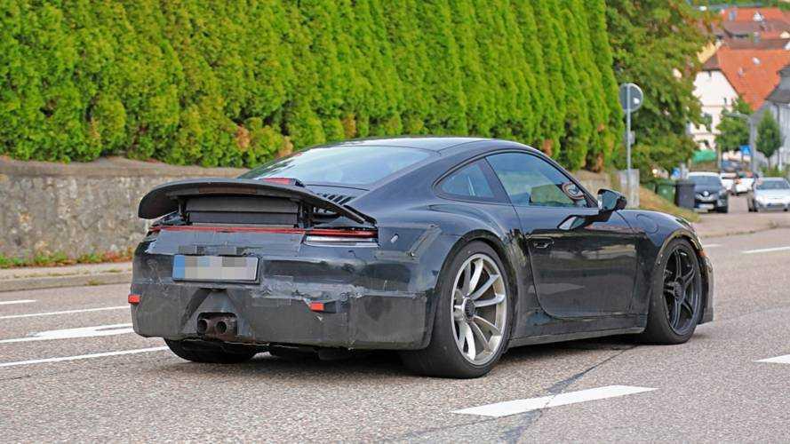 Erwischt: Porsche 911 GT3 (992) 2020