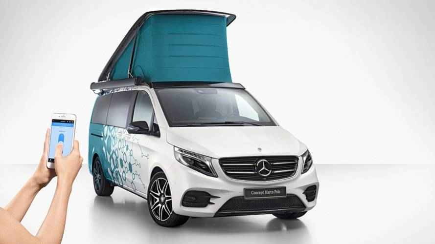 Mercedes tech-heavy camper vans, fuel cell Sprinter revealed