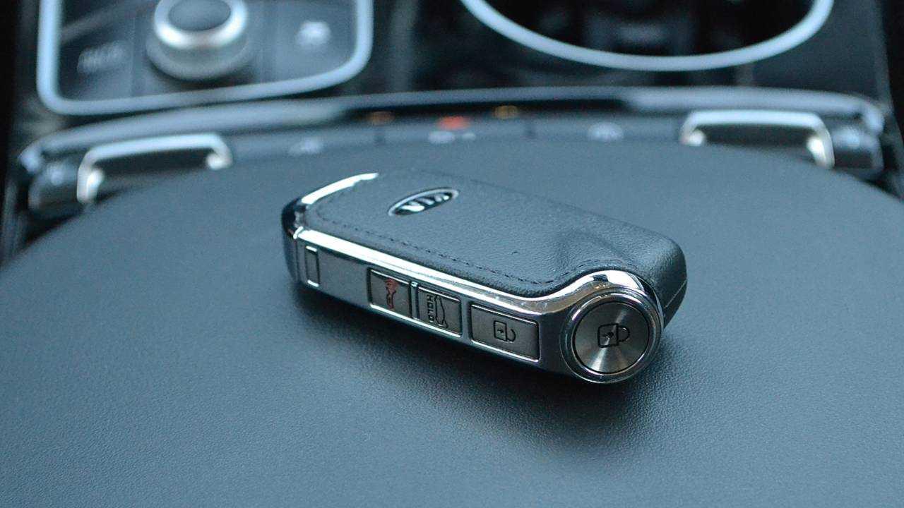 1. Detonator-style key fob