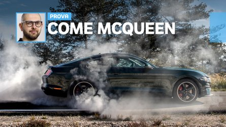 Ford Mustang Bullitt, la prova