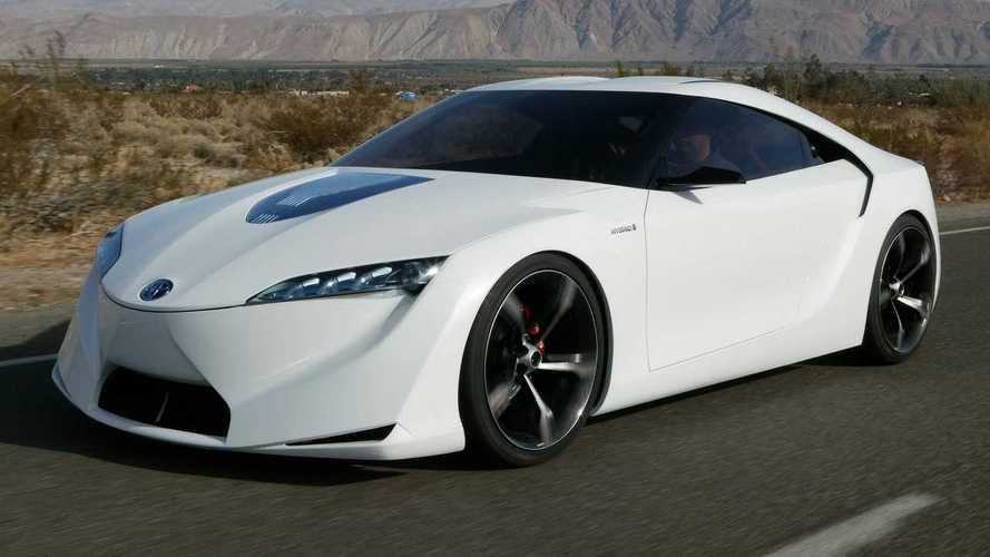 Toyota Supra zaman çizelgesi