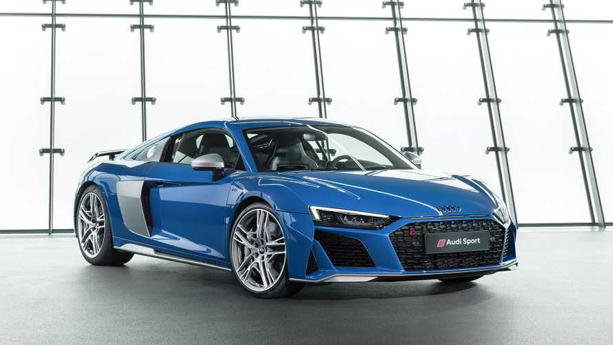 Audi R8 restyling, look affilato e 620 CV