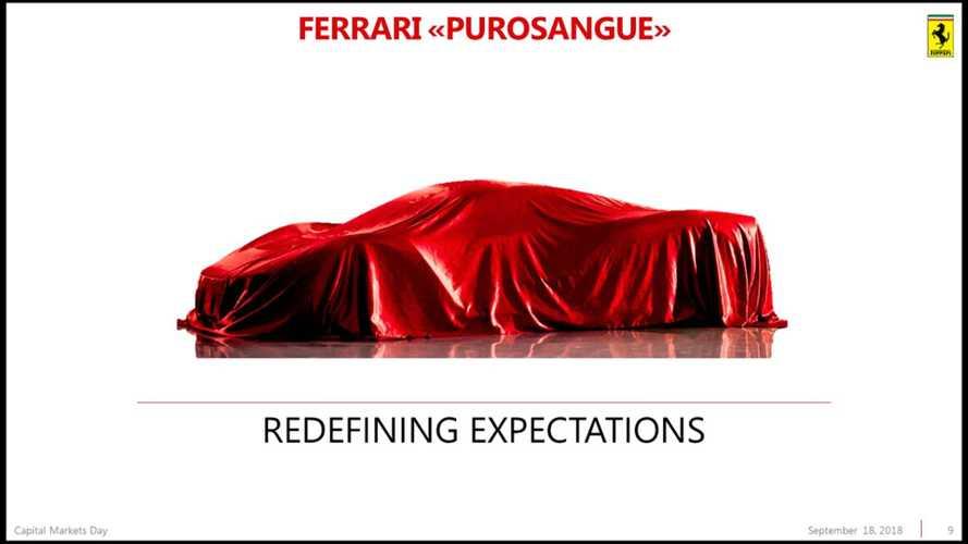 Ferrari SUV'sinin ismi ve bazı detayları belli oldu