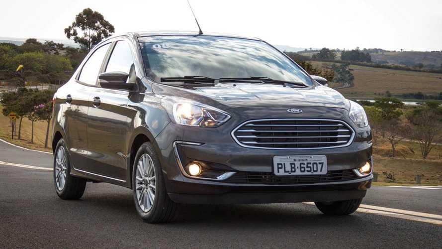 Sedãs compactos em outubro: Ford Ka Sedan bate recorde de vendas