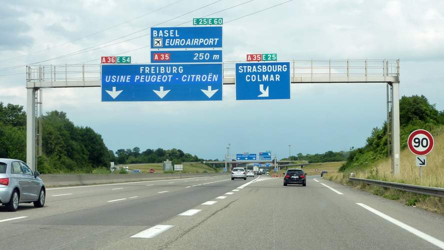 L'autoroute A35 limitée à 110 km/h dans le Haut-Rhin ?