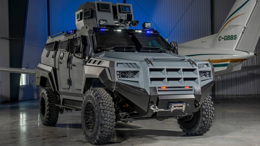 Armoured SUV is ready for the apocalypse