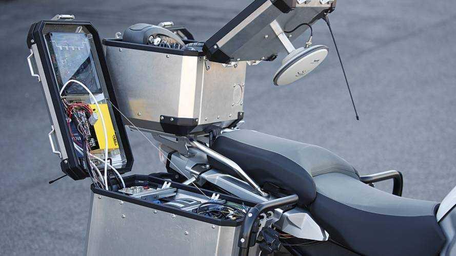 BMW 1200 GS Autonome