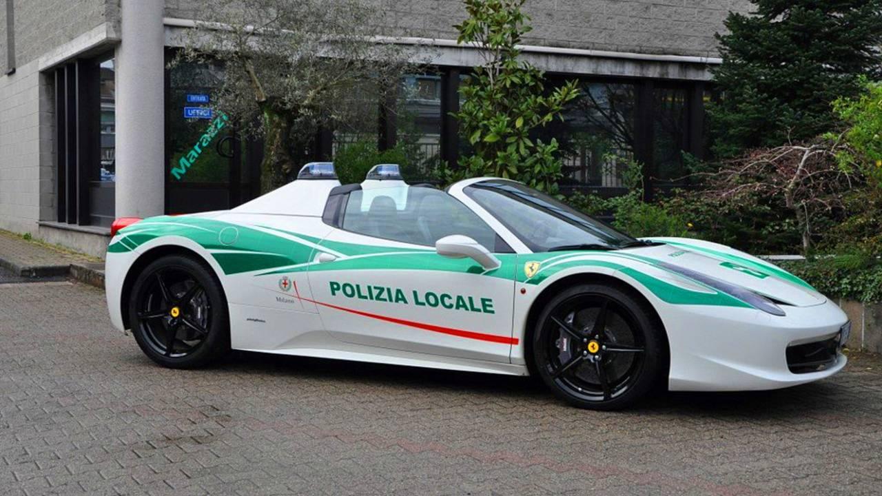 Milan Police Ferrari 458 Spider