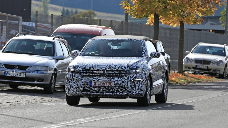 Volkswagen T-Roc Cabrio Spy Photos