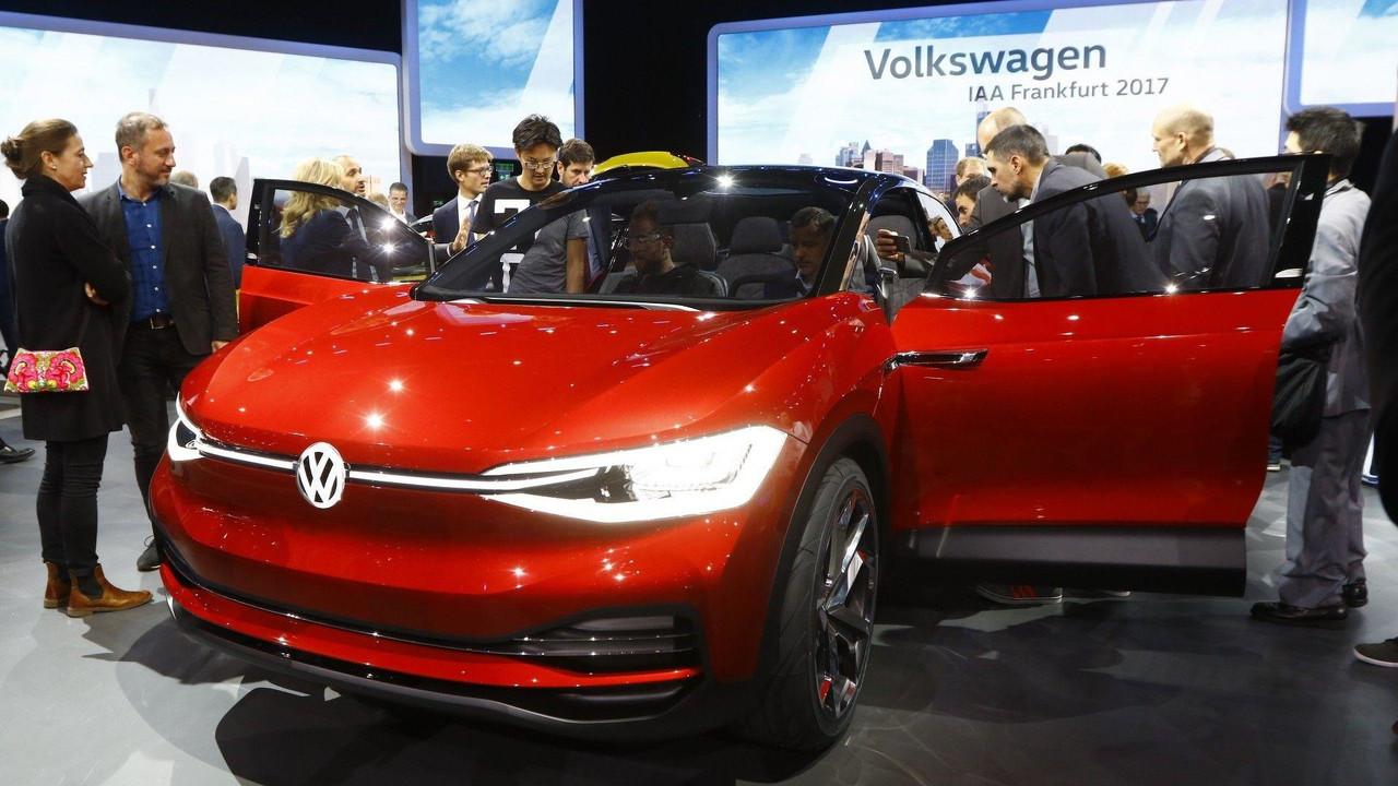 Volkswagen I.D. Crozz II  konsepti - Frankfurt