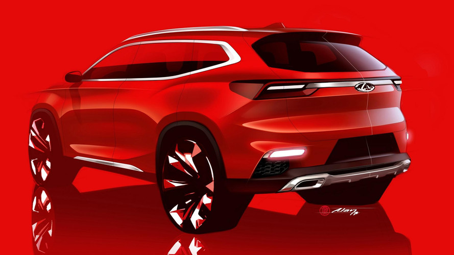 Chery Sketches Out Global SUV Prior To Frankfurt Premiere