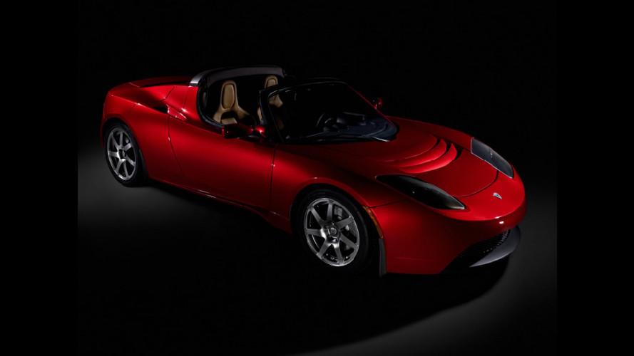 Al via la produzione della Tesla Roadster