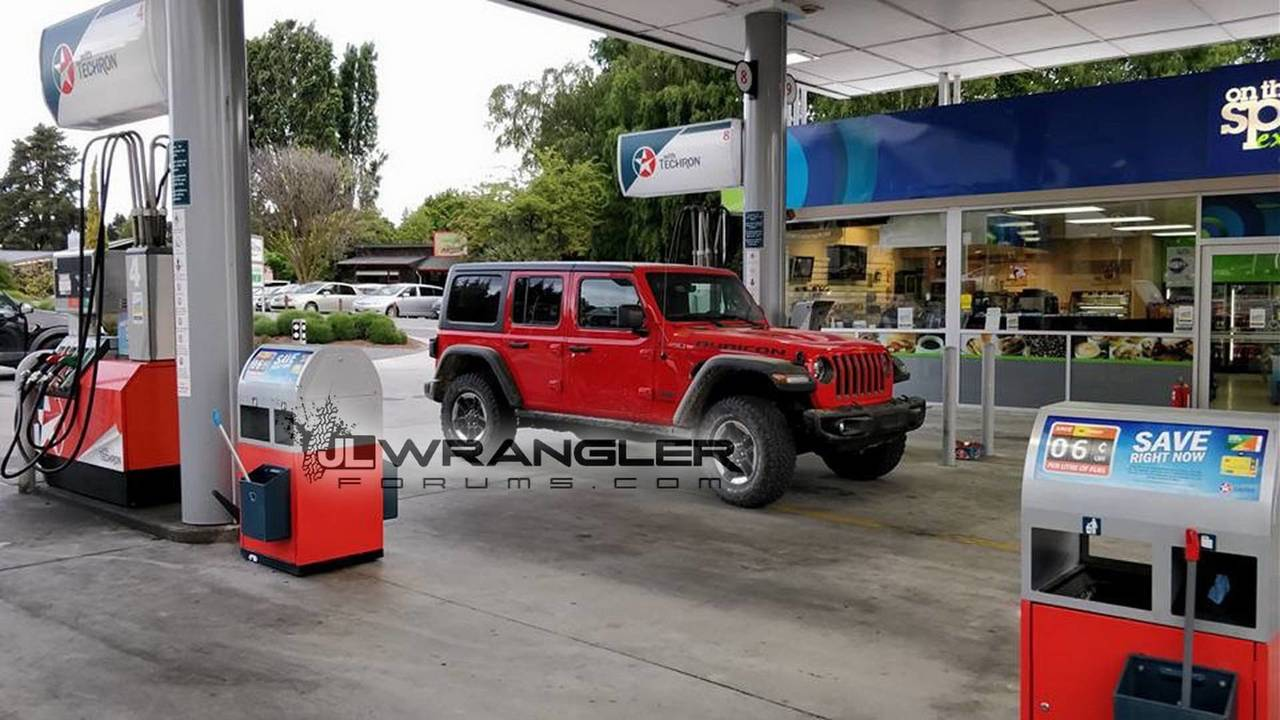 2018 Jeep Wrangler Unlimited Rubicon real image