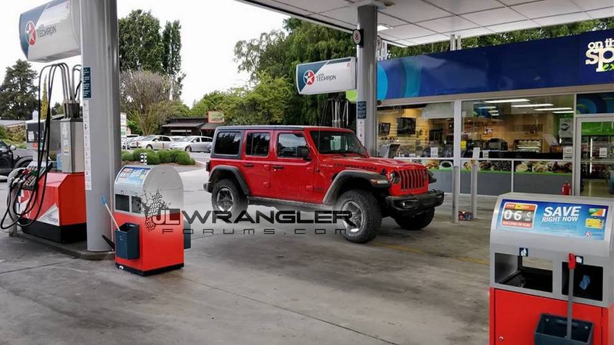 2018 Jeep Wrangler Unlimited Rubicon Spotted In The Metal
