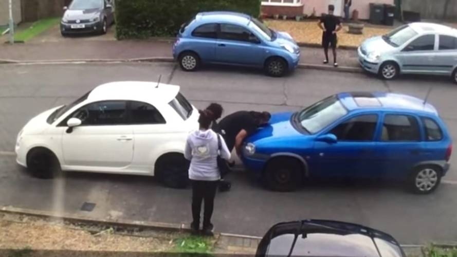 Turkish Hulk Picks Up, Moves Car In Neighbor Dispute