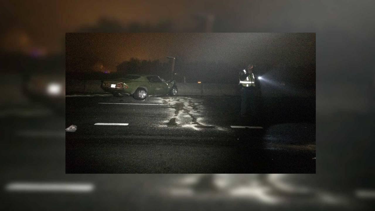 Couple Crashes Totaling Camaro