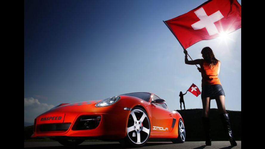 "Porsche Cayman ""Imola"" by Rinspeed"