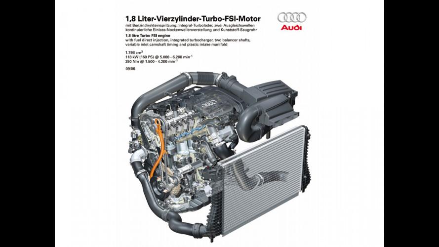 Un nuovo 1.8 TFSI per Audi A3