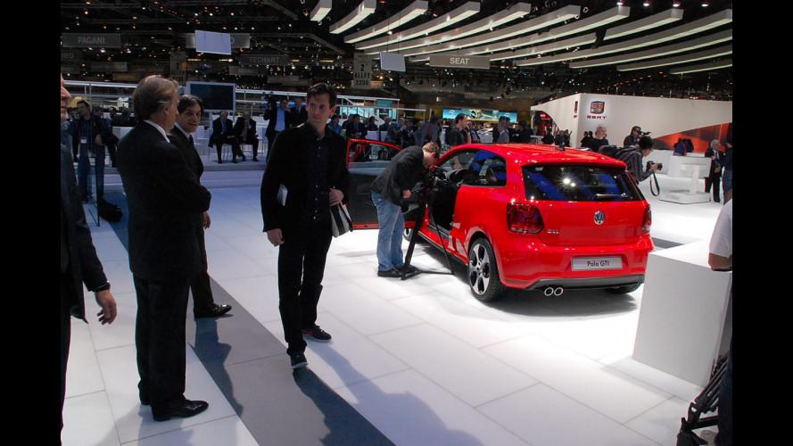 """Salone di Ginevra: Montezemolo """"visita"""" Volkswagen"""