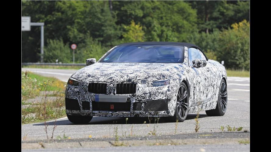 BMW 8er Cabrio als Erlkönig gesichtet