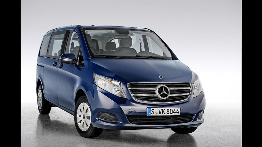 Mercedes V-Klasse als neue Einstiegsversion Rise