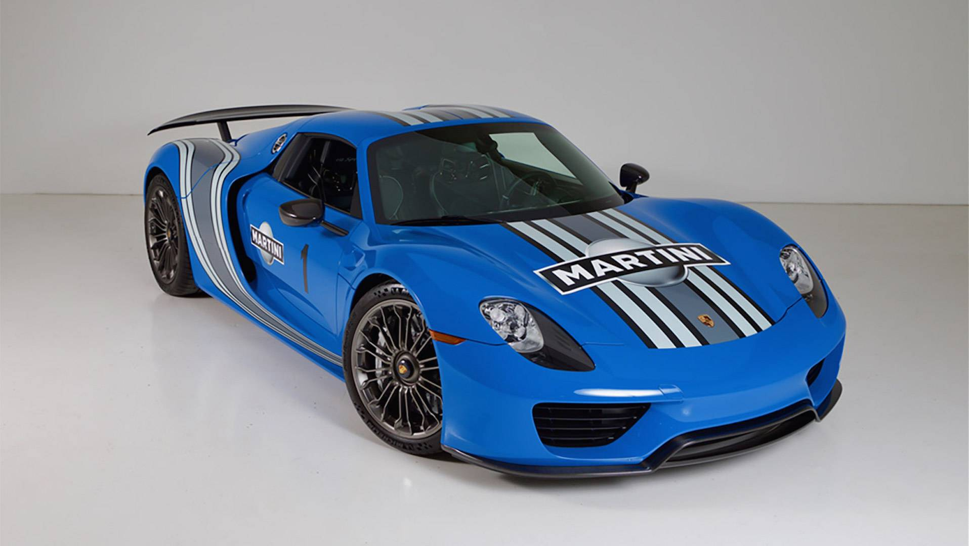Buy The World\u0027s Only Factory VooDoo Blue Porsche 918 Spyder