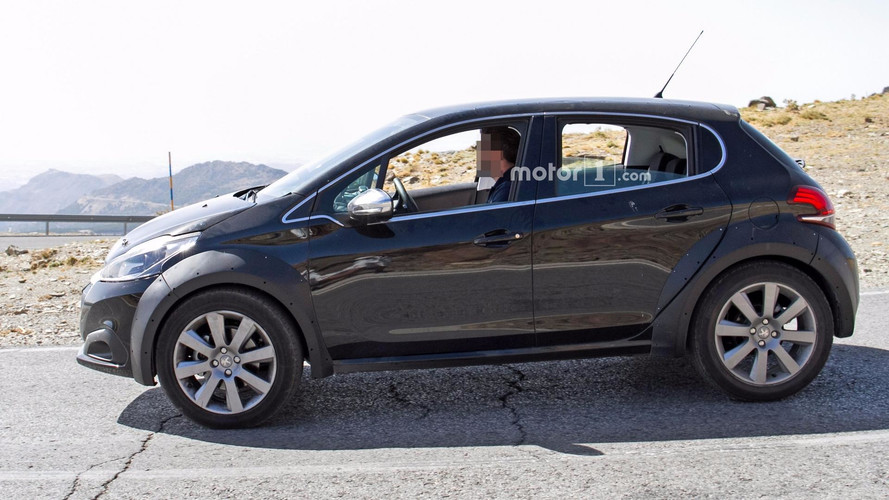 Is This Spied Peugeot 208 The Next-Gen Or A 1008 Tiny Crossover?