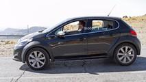 Peugeot 1008 photos espion
