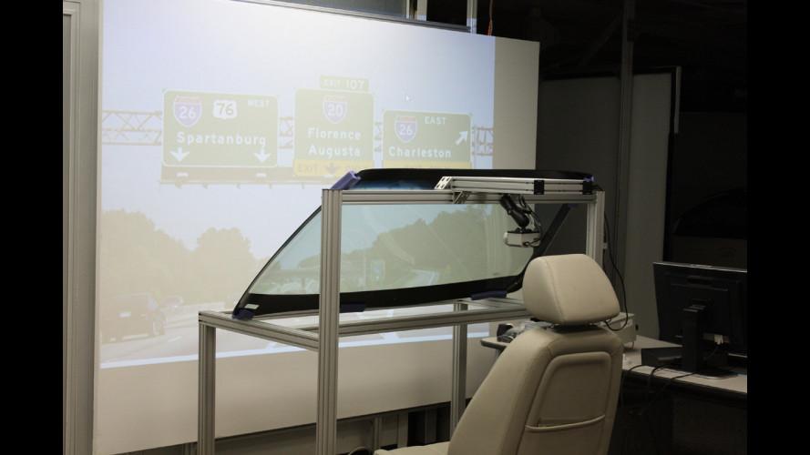 Da GM il parabrezza a realtà aumentata