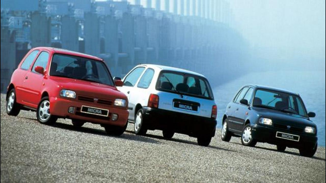 """[Copertina] - Nissan Micra, 30 anni """"macro"""""""