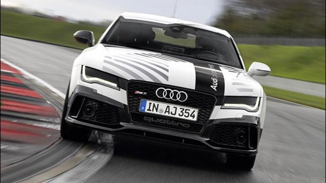 [Copertina] - Audi RS 7, in pista senza pilota [VIDEO]