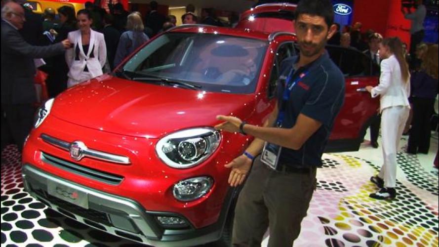 Fiat 500X, la